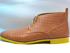 $300 NEW COLE HAAN AIR CHARLES. PERFED LEATHER BEIGE  BOOTS  SIZE 11 M