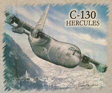 L'AVIAZIONE C-130 HERCULES T-SHIRT * TAGLIA EXTRA-LARGE *