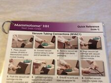 Ethicon Mammotome Quick Reference Guide Very Good Condition
