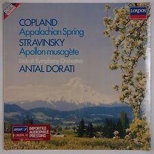 COPLAND: Appalachian Spring, Stravinsky SEALED London Digital Import DORATI LP