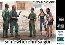 Masterbox 1:35 - Da qualche parte a Saigon, Vietnam Guerra Serie