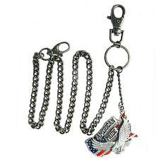 Wallet Chain Kette, Geldbörse Sicherungskette Brieftasche American Pride Adler