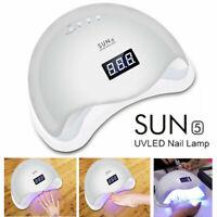 NEW 48W SUN5 Professional LED UV Nail Lamp Led Nail Light Nail Dryer 1X EN