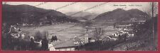 VARESE PORTO CERESIO 13 LAGO DI LUGANO Cartolina DOPPIA viaggiata 1915