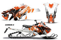 Snowmobile Graphics Kit Decal Sticker Wrap For Polaris Axys SKS 15-16 CARBONX O