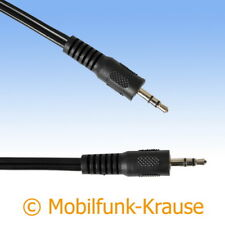 Musikkabel Audiokabel Auxkabel Klinkenkabel f. HTC Wildfire S
