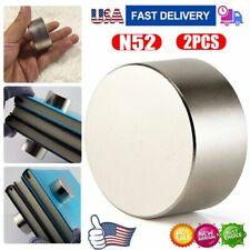 2pcs Round N52 Large Neodymium Rare Earth Magnet Big Super Strong Huge 40mm20mm