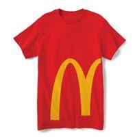 McDonalds Red Yellow Golden Arches T-Shirt - Medium - Rare & NEW