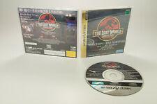 Sega Saturn *The Lost World Jurassic Park* OVP Anleitung NTSC-J
