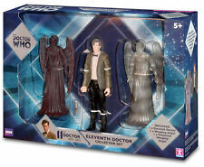 "Doctor Who 6"" Figure Set 11th Dr Weeping Angel & Projected Angel New MIB Mint"
