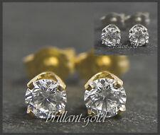 Brillant Diamant Damen Ohrstecker 585 Gold/ 0,15-0,45ct/ Top Wesselton/ VS-Si