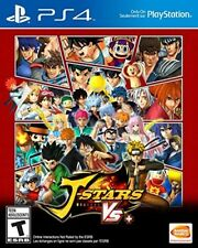 PLAYSTATION 4 PS4 GAME J-STARS VICTORY VS+ PLUS BRAND NEW AND SEALED