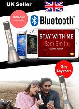 Pink Karaoke Wireless Bluetooth Karaoke Machine built in Speaker Karaoke Mic
