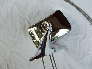69 1969 Galaxie 500XL Remote OSRV Mirror Rear View C9a LTD Excellent Chrome