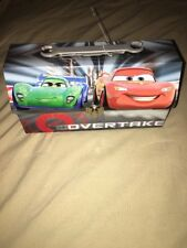 Disney Pixar Cars Tin Box Kids Lunch Box New No Tags