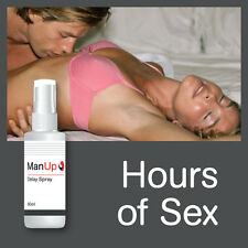 MAN UP DELAY SPRAY – NO CUMMING TOO QUICK SEX NO PREMATURE EJACULATION