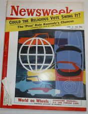 Newsweek Magazine Could The Religions Vote Swing It April 18, 1960 100716R2