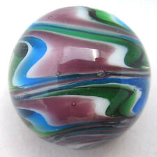 "25mm SONATA Handmade Contemporary art glass stripe design Marbles 1"" SHOOTER"
