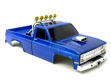VINTAGE TAMIYA CLODBUSTER CHEVY SILVERADO 1:10 HARD BODY WITH WORKING LIGHTS