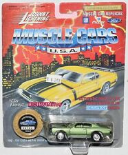 JOHNNY LIGHTNING MUSCLE CARS SERIES 8 1970 CHEVELLE SS GREEN W+