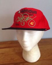 bd156d53499 Vintage 1995 KENDALL RACING Kyle Petty  42 SnapBack Trucker Hat -Red Retro