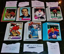 OLD 1970'S TOPPS HOCKEY CARDS LOT OF 200 !!!!!