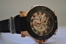 Aquaswiss Rose Gold and Black Watch Bolt G Automatic