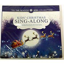 Kids' Christmas Sing-Along 2 CD Collection On Audio CD Album Holiday Brand New