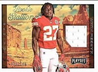 2017 Playoff Football Rookie Stallions Jersey Singles (Pick Your Cards)