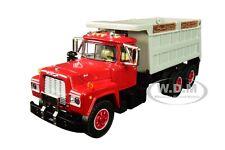 MACK R DUMP TRUCK RED W/GRAY BODY 1/64 DIECAST MODEL BY DCP/FIRST GEAR 60-0435