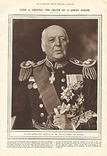 1919 ANTIQUE PRINT- PORTRAIT-THE LATE ADMIRAL LORD BERESFORD