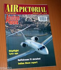 Air Pictorial 1997 February Lynx,Gulfstream 4,Mexicana,Boeing 707,Malmo.Wicko