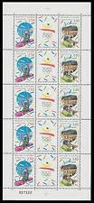 Sheet Andorran Stamps