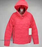 NEW LULULEMON Fluffed Up Pullover Jacket 4 6 8 Boom Juice Goose Down FREE SHIP