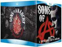 COFFRET BLU RAY NEUF - SERIE  : SONS OF ANARCHY - L'INTEGRALE DES SAISONS 1 A 6