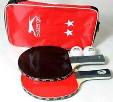 Tischtennisschläger Tischtennis 2 Schläger mit 2 Bällen Set mit Tasche Ping Pong