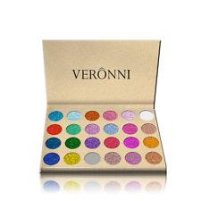 24 Colors Glitter Eye Shadow Palette Makeup Pressed Diamond Silky Shine Portable