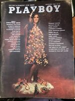 Playboy Magazine - December 1968 - With Centerfold & Inserts