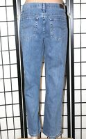 """LEE """"At the Waist"""" Women's Size 10 P Petite Relaxed Straight Leg Jeans 28 Inseam"""