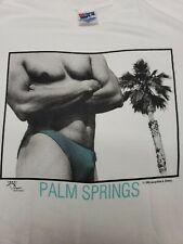 90s Vintage Body Building Shirt Muscle LGBQ Speedo Punk Cherry Palm Springs
