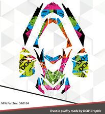 WRAP GRAPHICS FOR SKI-DOO XP MXZ RENEGADE SUMMIT 2008-2013  SA0154