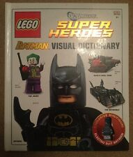 DC Universe Super Heroes Batman Visual Dictionary DK LEGO Hardback Book