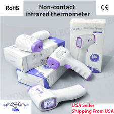 Fda Ce Approved 2 Color Forehead Digital Thermometer Hi-Quality