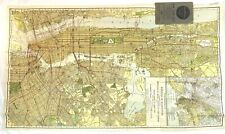 Antique Rand Mcnally Colored Lithograph Map New York City Boroughs 1917 Nice!