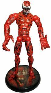 "Marvel Legends Carnage 6"" inch Figure LOOSE ToyBiz Fearsome Foes Spider-Man 2006"