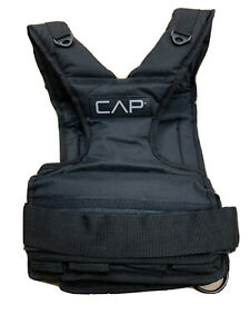 CAP Barbell Adjustable Weighted Vest, 30 lb VEST ONLY-No Weights NEW Free Ship