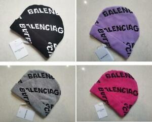 New Balenciaga² Beanie Hat Unisex Cap 4 Color