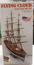 C. Mamoli 1/96 Flying Cloud 3 Masted 1851 US Clipper Ship Model Kit 37 Inches