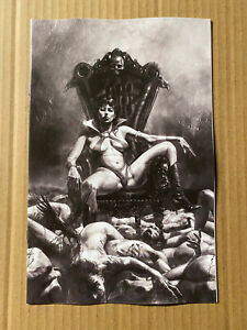 VAMPIRELLA #18 MASTRAZZO 1:25 VIRGIN B/W VARIANT DYNAMITE ENTERTAINMENT (2021)