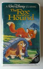 Vintage Walt Disney's The Fox And The Hound VHS 1992 Black Diamond Classic